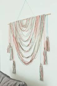 Draped Colorful String Wall Decor