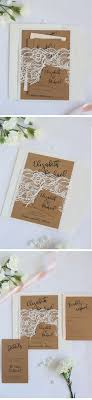 Ivory Lace Rustic Wedding Invitation Perfect For The Special Event By Paradise Invitations