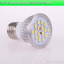 2018 5x led spotlight e27 8 watt aluminum led pot lights smd5730