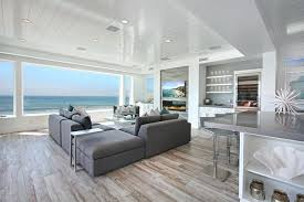 Excellent Grey Hardwood Floors Distressed Flooring Living Room Beach With Front Gray White Kitchen Wooden Furniture