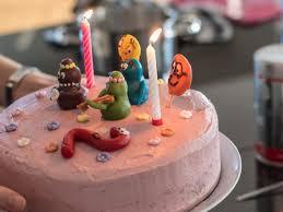 eine barbapapa torte für den kindergeburtstag backen