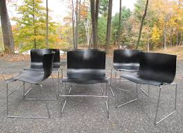 Knoll Pollock Chair Vintage by Set Of Massimo Vignelli Handkerchief Chairs By Knoll Sold Items
