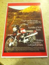 Image Is Loading Vintage Harley Davidson Rapido Aermacci Motorcycle Ad Poster