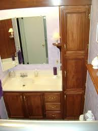 Bathroom Vanity Tower Cabinet by Bathroom Tower Cabinet Bathroom Vanity With Tower Vanities Storage