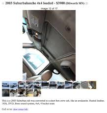 The Things You Find On Craigslist. I Can... - Louisville Chevy Dude ... Louisville Craigslist Cars Trucks By Owner Manual Guide Example 2018 Org Jobs Apartments With Ford Sued By Truck Owners Claiming Diesel Engines Were Rigged Sfgate Jd Byrider Auto Loan Providers 6600 Dixie Hwy Ky Used For Sale Ky Dump Truck Jack Schmitt Chevrolet Of Ofallon St Louis Dealer Fseries Production Could Resume Sooner Than Expected The 3n1cn7ap4fl832572 2015 Gray Nissan Versa S On In Bachman Lexington Evansville And Nc Man Dies After Crash With Garbage At Outer Banks