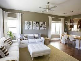 wonderful white couches in living room and good colors to paint a