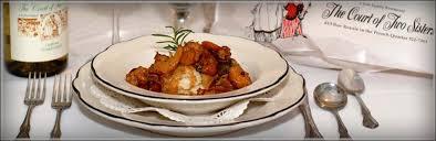 bleu orleans cuisine the court of two a quarter courtyard restaurant