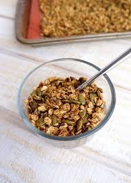Pumpkin Flaxseed Granola Nutrition Info by Oil Free Flax And Pumpkin Seed Granola Vegan Cook Oil Free