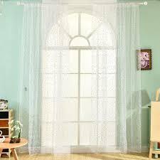 rideaux pour cuisine multi style transparent rideaux pastorale imprimé marguerite fleur
