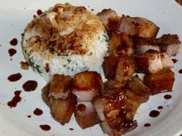 cuisine chinoise porc de porc à la chinoise