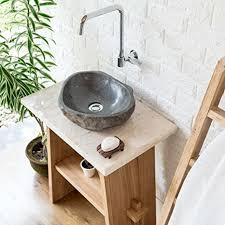 wohnfreuden marmor waschtischplatte creme 60x40x3 cm