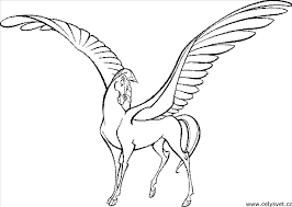 Cool Pegasus Coloring Pages Exciting Astonishing Decoration Great Image Unknown Resolutions High Barbie