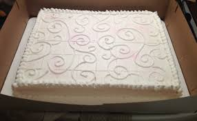 Wanted To Dress Up A Simple Sheet Cake For Wedding Topped Off With