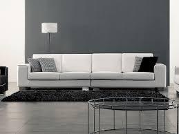 canapé tissu blanc canapé 4 places tissu chez la maison du canapé