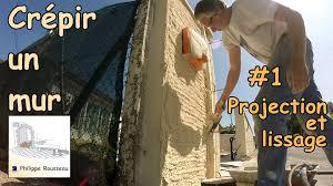 enduit mur parpaing 1 projection et lissage