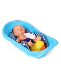 Dolls Baths And Potty Set Huggles Casdon Toys