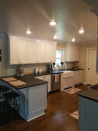 light granite countertops with kitchen cabinets and ideas