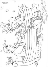 Ariel And Eric Coloring Page With A Little Imagination Color This The Most Crazy Colors Of Your Choice