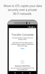 Move to iOS Android Apps on Google Play
