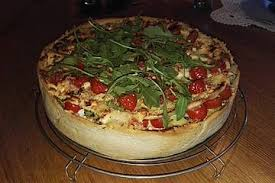 herzhafter pizza kuchen