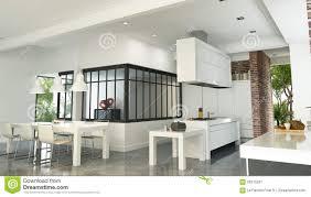 100 Industrial Style House Luxurious Interior Stock Illustration