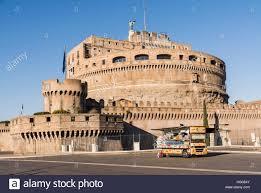 100 Snack Truck Truck Outside Castel SantAngelo In Rome Italy Stock Photo
