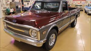 100 69 Chevrolet Truck 19 Custom C20 Vintage Motorcars Sun Prairie