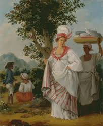 West Indian Creole Woman With Her Black Servant Agostino Brunias Oil On Canvas Yale Center For British Art