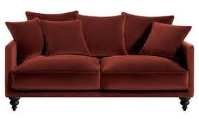 canape velours amazing canape velours violet places meubles with