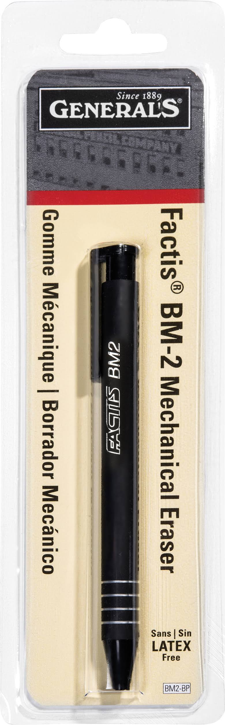 General Pencil Factis Mechanical Eraser - BM-2 Blistercard