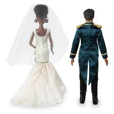 Tiana And Naveen Classic Wedding Doll Set The Princess And The