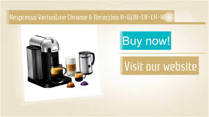 Nespresso VertuoLine Chrome Aeroccino A GCA1 CA CH NE