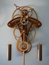 woodwork wood clock gear design pdf plans