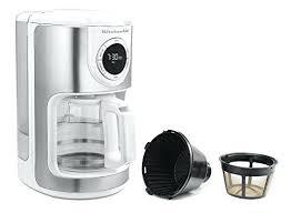 Kitchenaid 4 Cup Coffee Maker Glass Carafe Machine