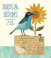 Birds Blooms 180 Desk Notes By Geninne