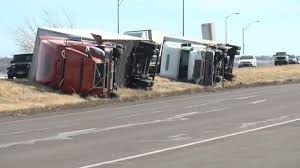100 High Trucks Wind Topples In Colorado NBC News