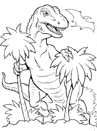 23 Realistic Dinosaur Coloring Pages 4910 Via Uniquecoloringpages