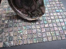 abalone shell green mosaic tile kitchen backsplash tiles of