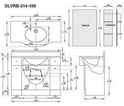 Ada Bathroom Counter Depth by Bathroom Vanity Dimensions Bathroom Vanity Dimensions Height With