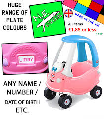 PERSONALISED NUMBER PLATES Fit Little Tikes Pink Princess Cozy Coupe ... Little Tikes Princess Cozy Coupe 30th Anniversary Edition Buy Tikes Cozy Truck Push Pedal Riding Vehicles Compare Coupemagenta At Shop Sport Kids Car Free Shipping Today Truck Little Tikes Cozy Truck Pumpkins Toys Little Coupe Second Hand Local Classifieds Preloved Foot To Floor Toys Lgant Ride Relax Wagon Replacement Parts Image Online The Nile Decals Fits With Eyes