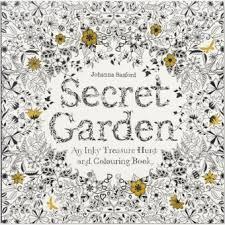 Harga Secret Garden Coloring Book Chronicle Books