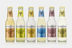 Package Design By London Based BB Studio For Premium Natural Tonic And Soft Drink Mixer Brand