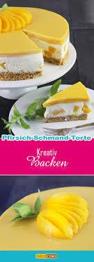pfirsich schmand torte mit keksboden und ganz neu decocino