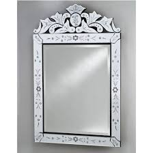Afina Medicine Cabinet 48 by Etched Glass Framed Mirrors From Afina U0027s Venetian Collection