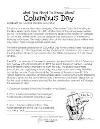 Columbus Day Ships Coloring Pages 2015 Free Worksheet Printable Full Size