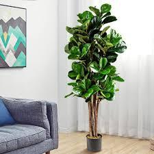 costway 1 5m künstlicher feigenbaum kaufland de
