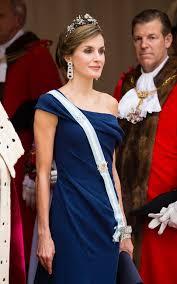 Queen Letizia At Londons Guildhall Last Night