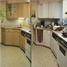 Stylist Design Ideas Painting Laminate Cabinets Before And After