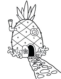 House Coloring Pages White Book Full Size