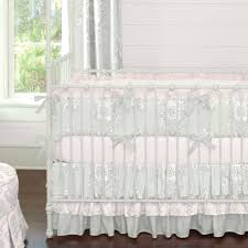 Pink Crib Bedding by Pink And Grey Crib Bedding Sets Tags Pink And Grey Nursery